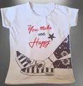 Girls Designer Printed Cotton Top