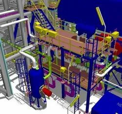Plant Piping 3D Modeling, in Pan India