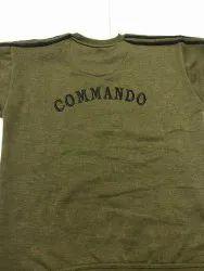 Army Woolen T Shirt