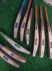 Kashmir (indian) Willow Long Handle Jaker Kasmiri Tennis Design Bat Double Blade, Size: 35