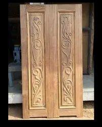 Designer Wooden Main Door, For Home