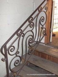 Iron Staircase Railings