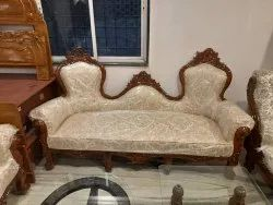 Teak Wood Carving Sofa