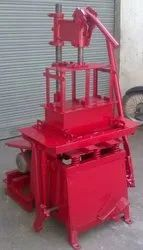 Manual Block Making Machine With Electric Vibrator