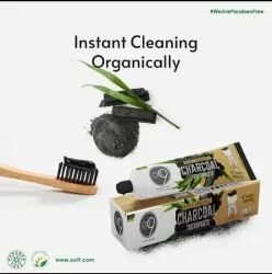 9 in 1 Organic Charcoal Toothpaste, Type Of Packaging: Box, Cream
