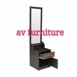 Brown Rectangular Wooden Dressing Table, For Home, Size: 6feet