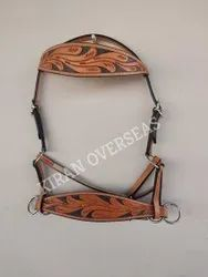Harness Dd Leather Western Bitless Bridles, Full