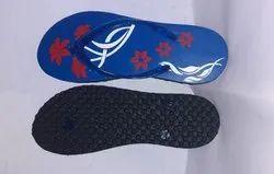 Hawai Printed Ladies Slipper