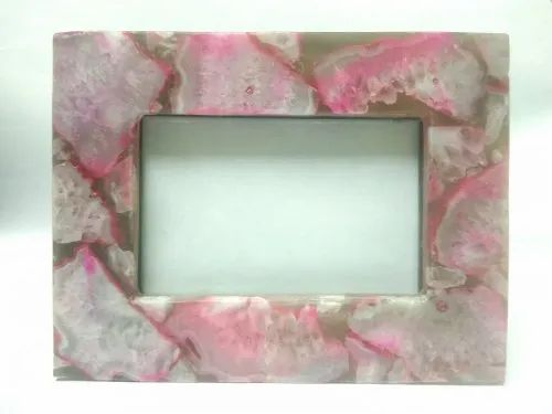 Stone Agate Photo Frame