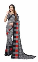 Ligalz presenting new chiffon Sarees with blouse