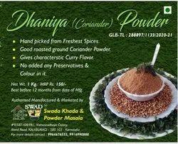 Floral aroma Coriander Dhaniya Powder, 1 Kg, Packaging Type: Loose Packing