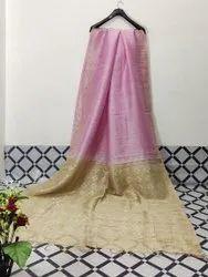 Silk Linen Hand Weaving Sarees