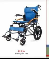 Arm rest folding Wheelchair