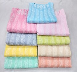 Full Sleeve Multicolor Anarkali Cotton Kurti, Wash Care: Machine Wash