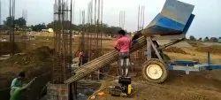 Cement Concrete Trolley