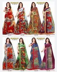 Ladies Full Printed Saree
