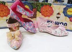 Foam Party Wear Kid's Belly Shoes, Size: 11 To 5