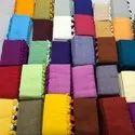 MulMul Plain Cotton Sarees