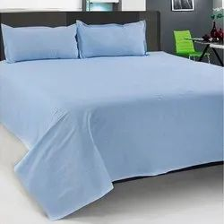 Dashing look Single Plain Bedsheet