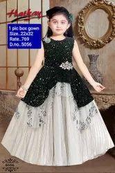 5056 Kids Party Wear Gown