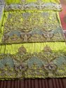 African Heavy Beaded George Fabric