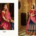 Banarasi Silk With Heavy Bridal Lehenga Choli