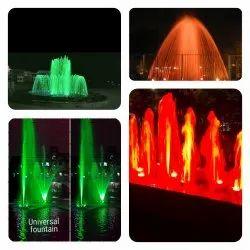 Kolkata Floating Fountain 35 Feet Height