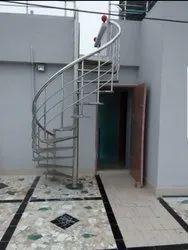 S S Spiral Stair case