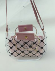 Packaging Bags Folding Transparent Sling Bag