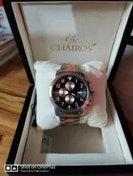 Chairos Alpine Neo SS Watch, Original Box And Bill Available. Brand New