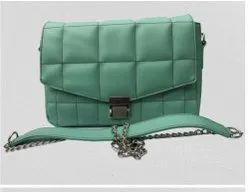 Shoulder Bag Customizable Ladies Hand Purse, 600gm (apopox.), Size: 18x28x7.5 (cm.) - Hxlxw