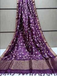 Silk Linen Copper Jari Barder