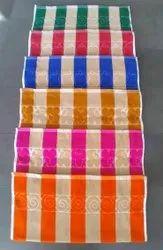 Balaji Stripped Cabana Stripe Bath Towels, 350 GSM, Size: 30 X 60 Inch