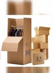 房屋移动商业包装和搬运工,在卡车立方体,潘印度