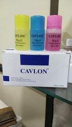 CAVLON Plastic Bottles Nail Polish Remover, Bottle