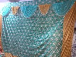 Knitting Multiple Curtains, For Wedding Decoration