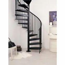 Iron Round Staircase