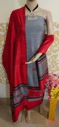 Tussar Silk 3 pcs Suit Materials