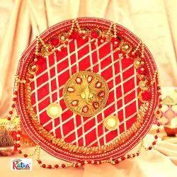 Designer Pooja Thali