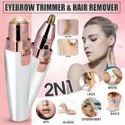 Rechargeable Eyebrow Trimmer Hair Remover