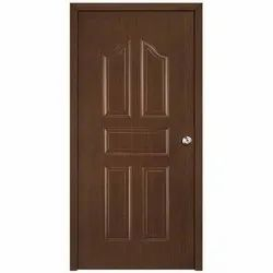 Ms Costomise Embossed Wood Finish Residential Door, Size: Coustomised, Thickness: 1.2mm