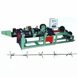 1500 Kg Automatic Barbed Wire Making Machine