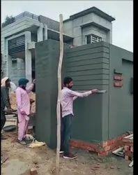 Modular Green Building plaster service