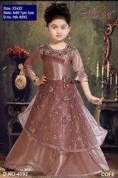 HTK 4092 Kids Party Wear Gown