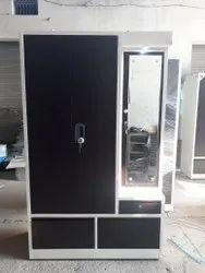 Brown Metal Steel Almirah, For Home, Size: 24x48x78