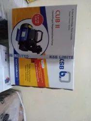 Cast Iron Single Phase Ksb Centrifugal Pump 0.5hp, Model Name/Number: Cub Ii