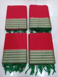 Shv Mangalgiri South Cotton Dress Material