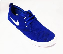 Bootloose Blue Canvas Shoes, Size: 6-9