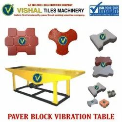 Cement Block Vibration Table