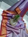 Zari Weaving Tissue Banarasi Silk Sarees